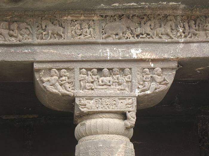 Фрески Аджанты - История на каменных сводах 66119