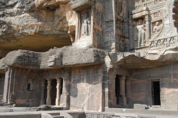 Фрески Аджанты - История на каменных сводах 64120