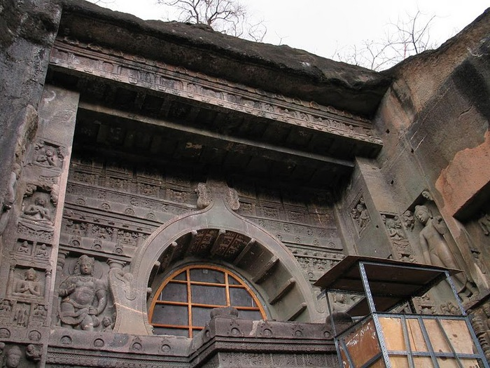 Фрески Аджанты - История на каменных сводах 84314