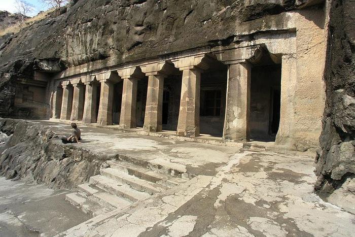 Фрески Аджанты - История на каменных сводах 68490