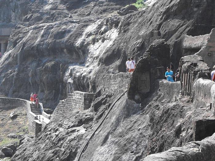 Фрески Аджанты - История на каменных сводах 35397