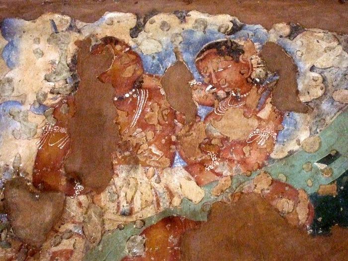 Фрески Аджанты - История на каменных сводах 87046