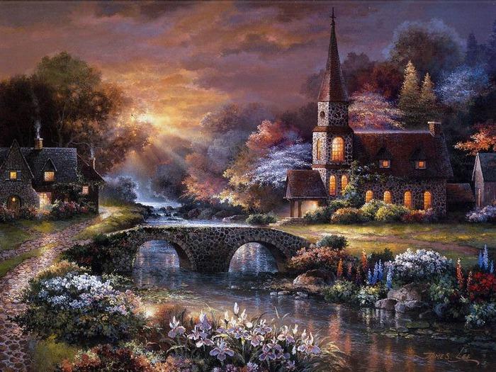 Сказочные миры Джеймса Ли (James Lee) 8