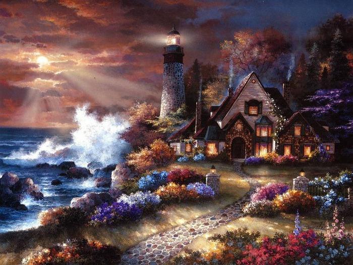 Сказочные миры Джеймса Ли (James Lee) 3