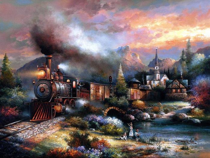 Сказочные миры Джеймса Ли (James Lee) 5