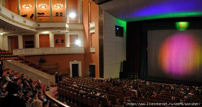 Зал театра российской армии