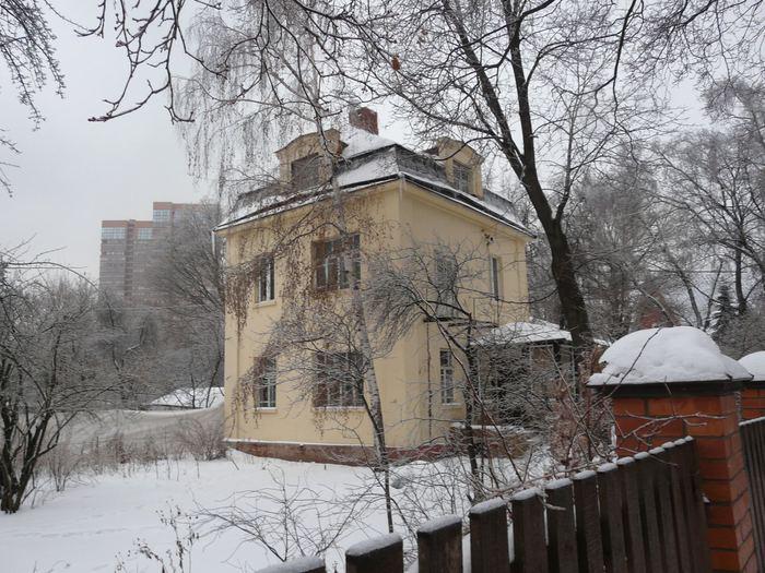 Поселок Сокол. Особняк на улице Саврасова