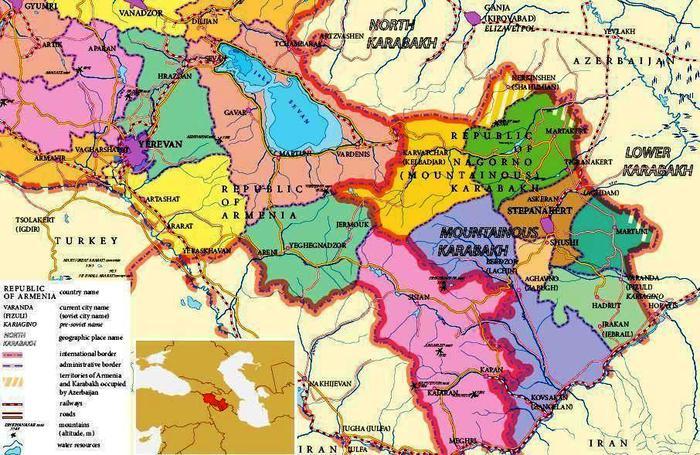 Мартуни (Нагорный Карабах) - 24map ru