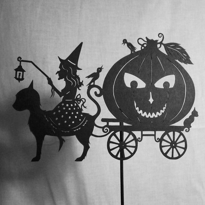 Путешествие в сказку: волшебная игра света и тени 13869