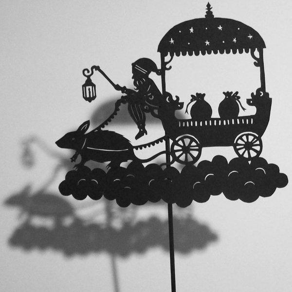 Путешествие в сказку: волшебная игра света и тени 71833