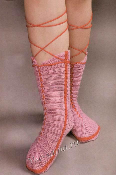 Гетры со шнуровкой