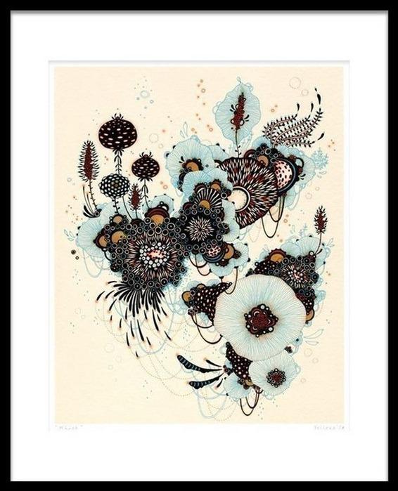 Красивые цветочные узоры от Yellena 4