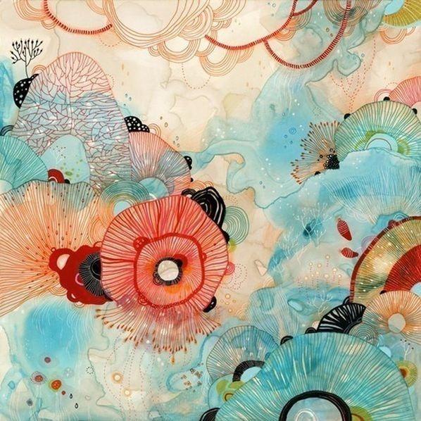 Красивые цветочные узоры от Yellena 2