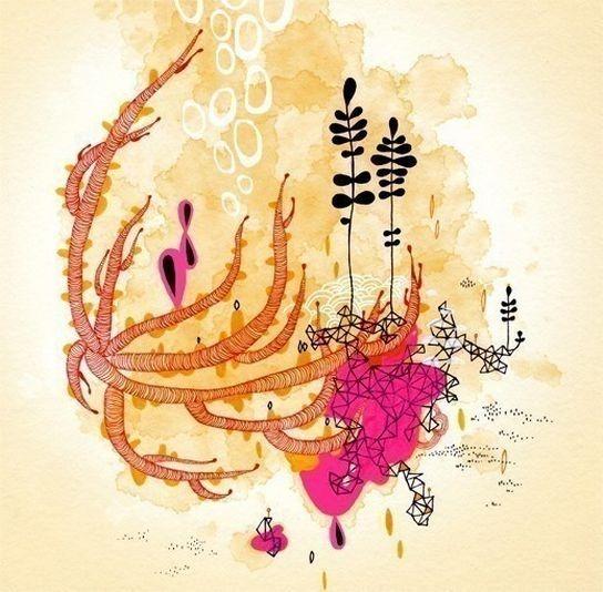 Красивые цветочные узоры от Yellena 3