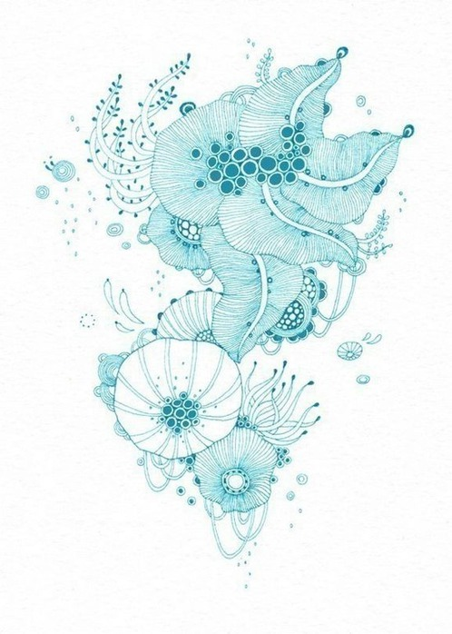 Красивые цветочные узоры от Yellena 7