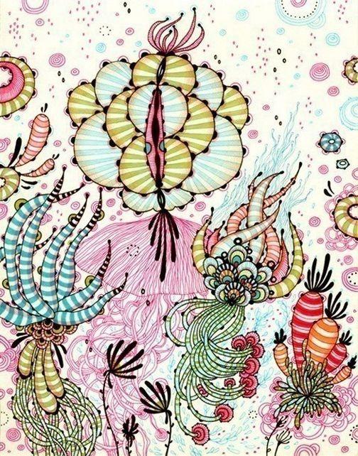 Красивые цветочные узоры от Yellena 8