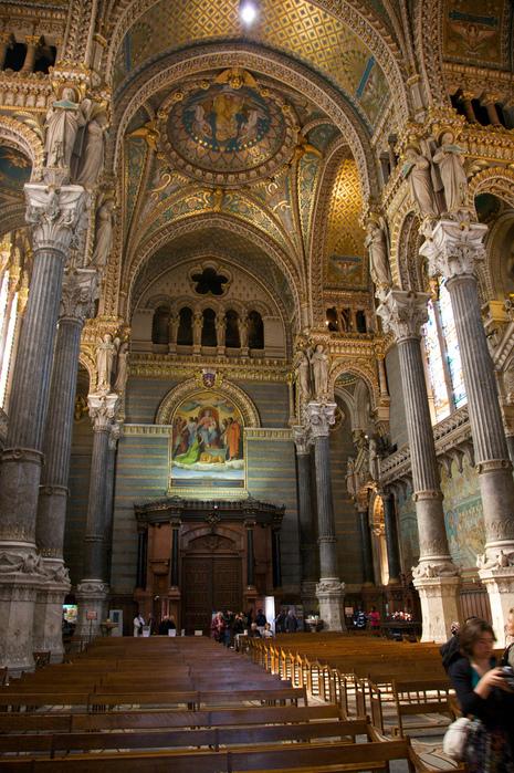Базилика Нотр-Дам де Фурвьер , Лион 87419
