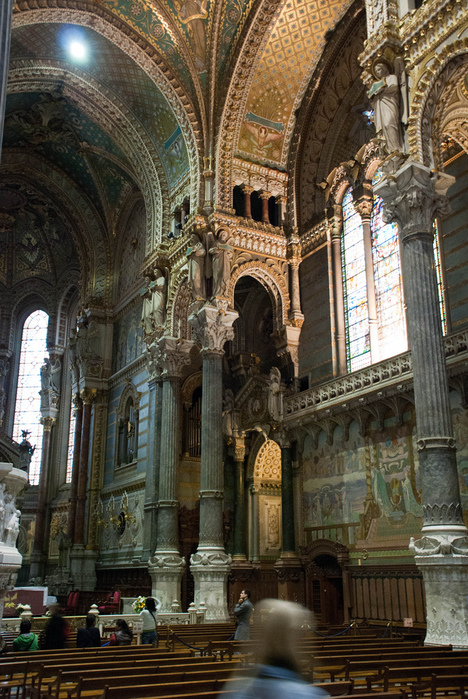 Базилика Нотр-Дам де Фурвьер , Лион 33728