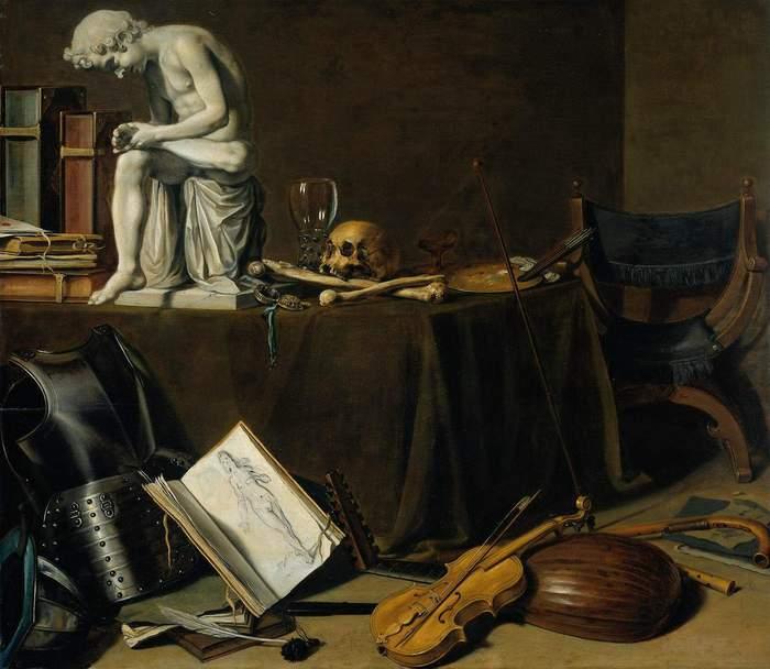П. Клаас. Vanitas. 1628