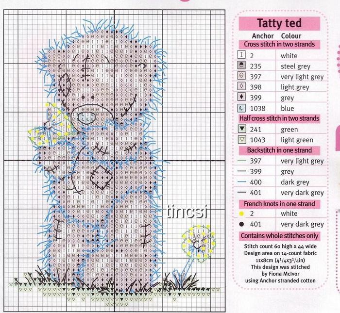 Рубрики: ВЫШИВКА/мишки Тедди
