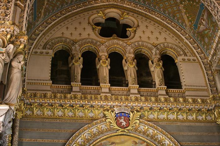 Базилика Нотр-Дам де Фурвьер , Лион 23508