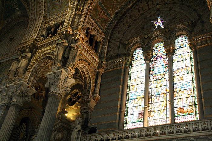 Базилика Нотр-Дам де Фурвьер , Лион 35520