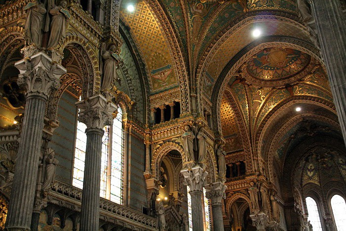Базилика Нотр-Дам де Фурвьер , Лион 73244