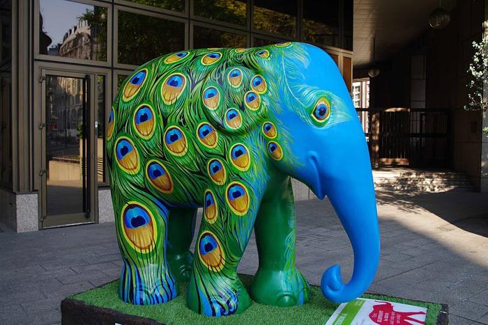 Парад Слонов в Лондоне 2010 25178