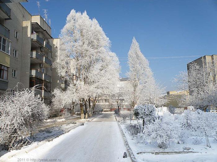 ейск зимой