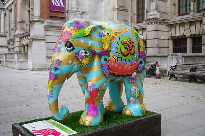 Парад Слонов в Лондоне 2010 55711
