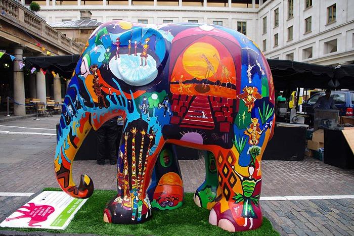 Парад Слонов в Лондоне 2010 50411