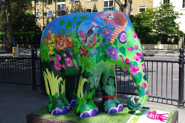 Парад Слонов в Лондоне 2010 86150