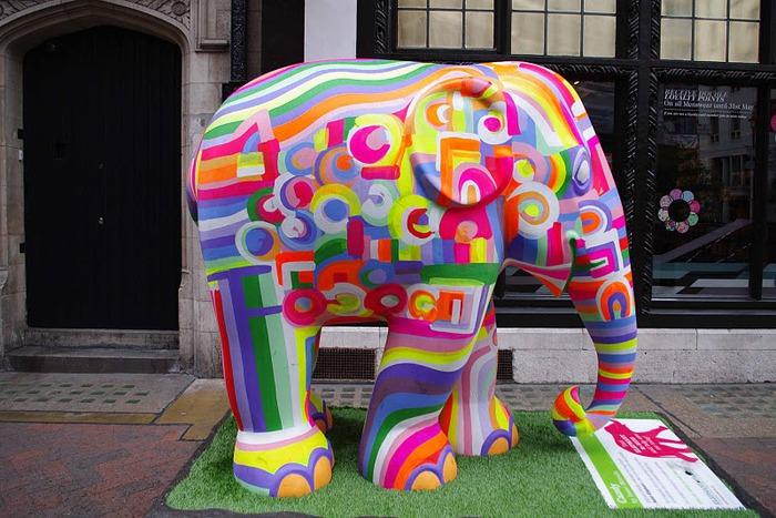 Парад Слонов в Лондоне 2010 61096