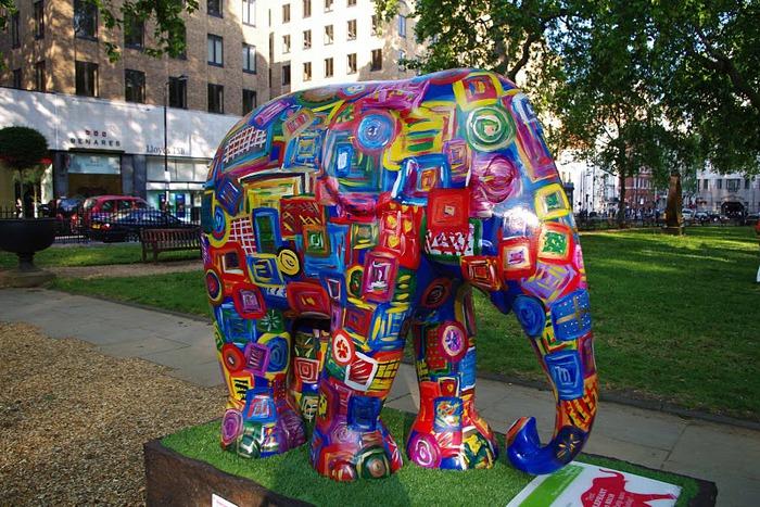 Парад Слонов в Лондоне 2010 69742