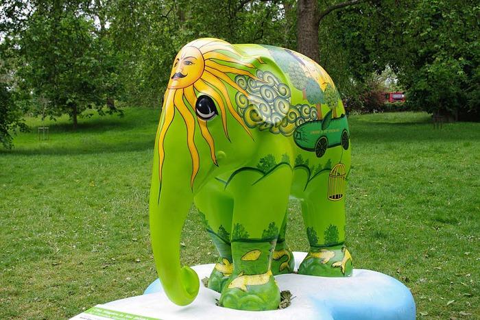 Парад Слонов в Лондоне 2010 28432