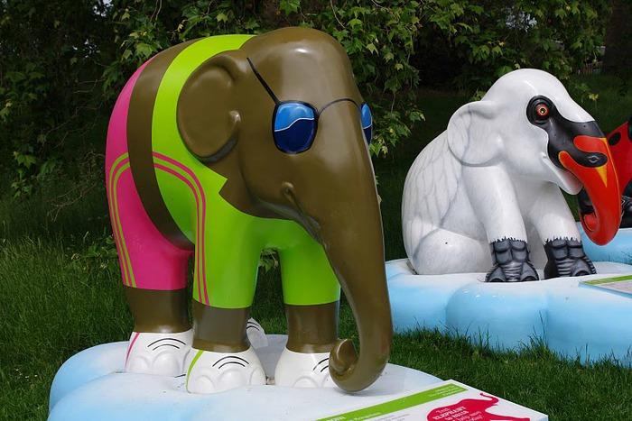 Парад Слонов в Лондоне 2010 57950