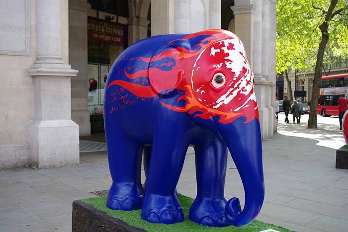 Парад Слонов в Лондоне 2010 72277