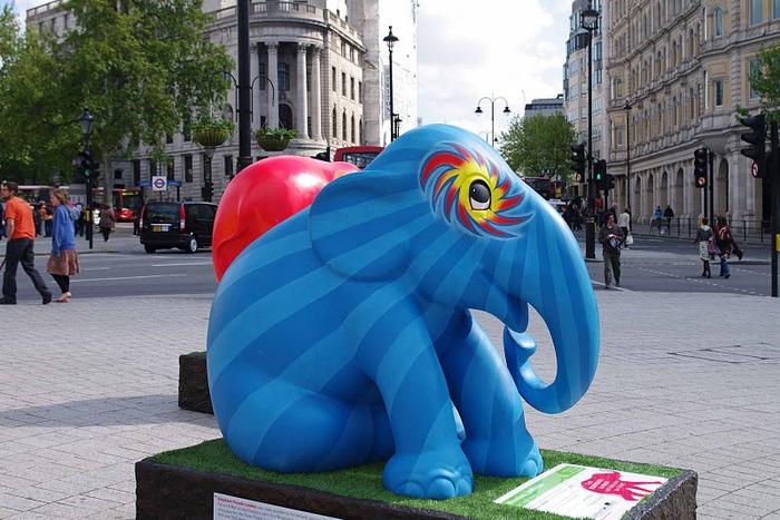 Парад Слонов в Лондоне 2010 96615