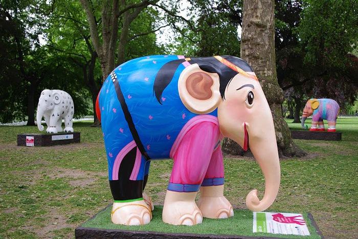 Парад Слонов в Лондоне 2010 62675