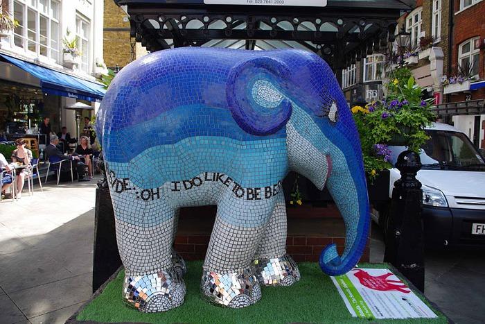 Парад Слонов в Лондоне 2010 32552