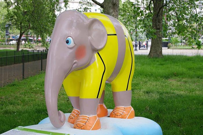 Парад Слонов в Лондоне 2010 11926