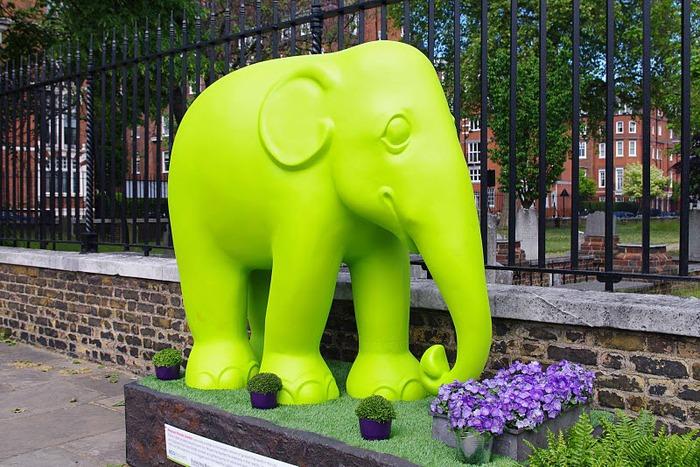 Парад Слонов в Лондоне 2010 28177