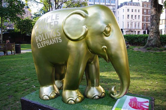 Парад Слонов в Лондоне 2010 35826