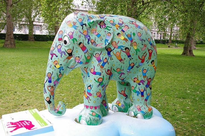 Парад Слонов в Лондоне 2010 92423