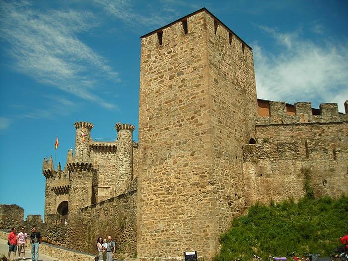 Понферрада (Castillo de Ponferrada) - Замок тамплиеров 62321
