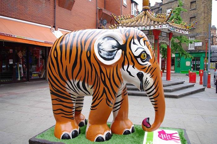Парад Слонов в Лондоне 2010 81217