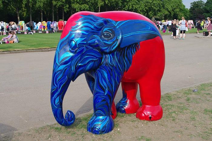 Парад Слонов в Лондоне 2010 70750