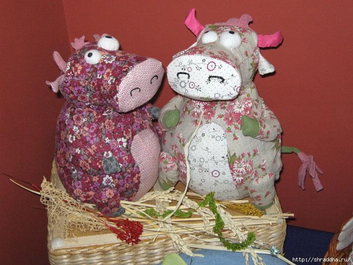 игрушки коровы