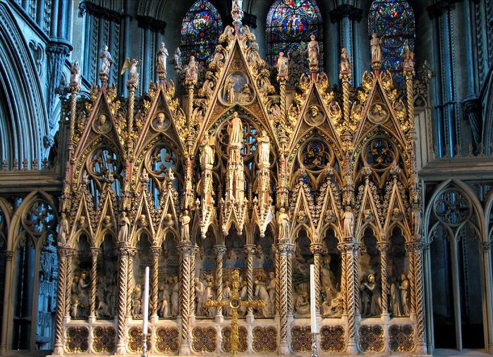 кафедральный собор Эли - (Англия). 37911