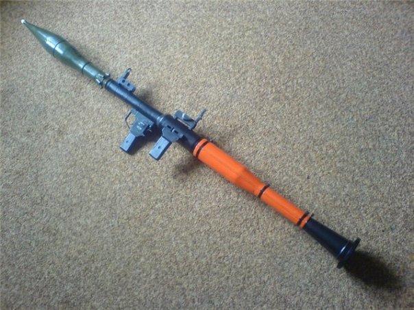 Или модель гранаты Ф-1